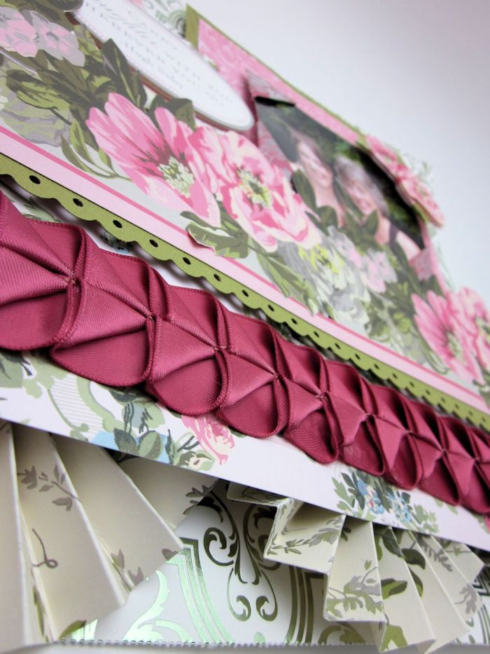Make a Victorian Style Ribbon Pleat