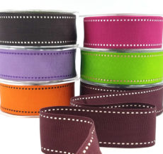 Stitches Grosgrain Ribbons
