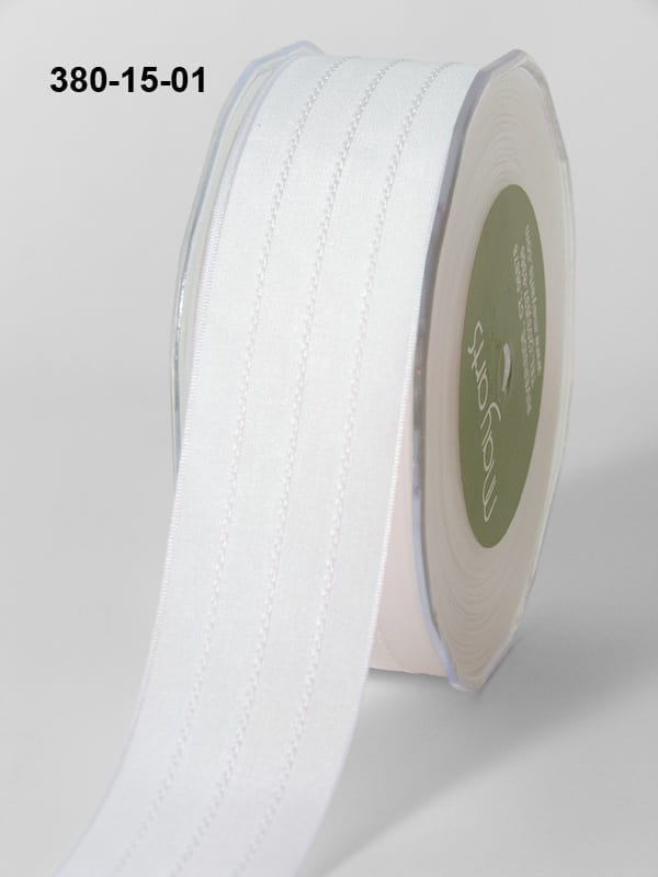 Variation #154550 of 1.5 Inch Solid / Center Stitches Ribbon